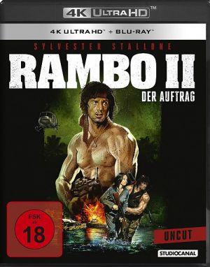 Rambo 2 - Der Auftrag (4K Ultra HD + Blu-ray)