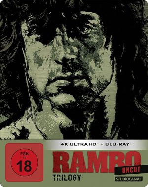 Rambo Trilogy - Uncut Limited SteelBook Edition (4K Ultra HD + Blu-ray)