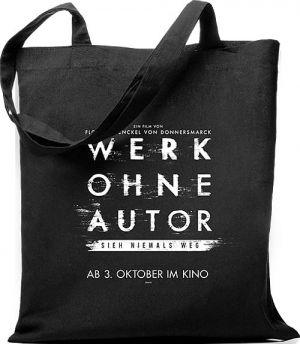 """Jutebeutel mit """"Werk ohne Autor""""-Motiv"""