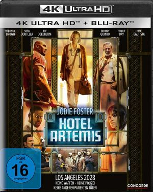 Hotel Artemis (4K Ultra HD + Blu-ray)