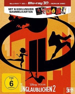 Die Unglaublichen 2 (2D-Blu-ray + 3D-Blu-ray), Incredibles 2 (3D-BD) 2018