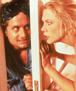Michael Douglas, Kathleen Turner, Der Rosen-Krieg, Der Rosenkrieg, The War of the Roses (Szene 08) 1989