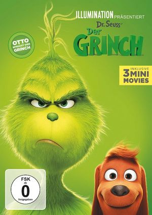 Der Grinch, The Grinch, Dr. Seuss' How the Grinch stole Christmas  (DVD) 2018