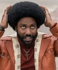"John David Washington in ""BlacKkKlansman"""