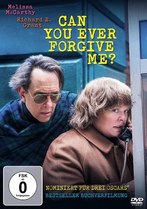 Can You Ever Forgive Me? (DVD) 2018