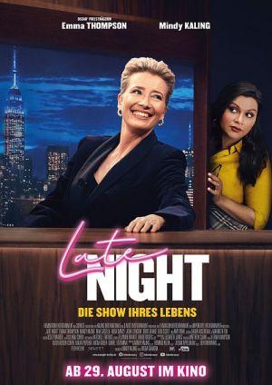 Emma Thompson, Late Night - Die Show ihres Lebens (Kino) 2019