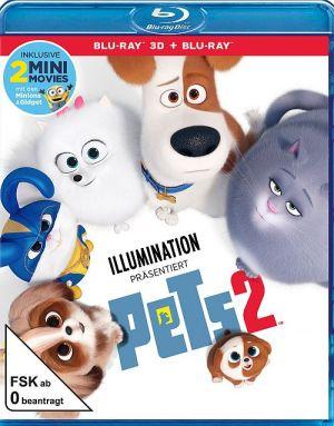 Pets 2 (3D) (3D-BD) 2019