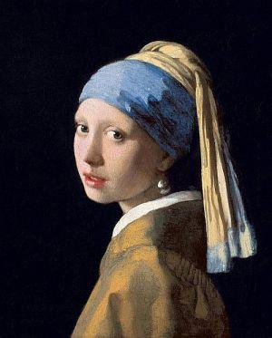 """""""Das Mädchen mit dem Perlenohrring"""" von Jan Vermeer"""