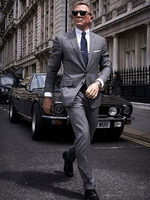 """Daniel Craig in """"James Bond 007 - Keine Zeit zu sterben"""" (""""No Time to Die"""", 2019)"""