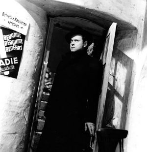 "Orson Welles in ""Der dritte Mann"" (""The Third Man"", 1949)"