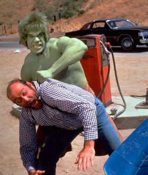 Der unglaubliche Hulk, The Incredible Hulk (Szene) 1977