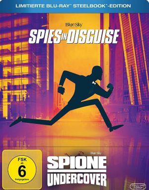 Spione Undercover - Limitierte Blu-ray Steelbook-Edition, Spione Undercover - Eine wilde Verwandlung, Spies in Disguise (digi) 2019