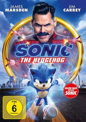 Sonic the Hedgehog (DVD) 2019