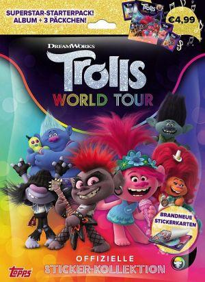 Trolls World Tour-Stickeralben