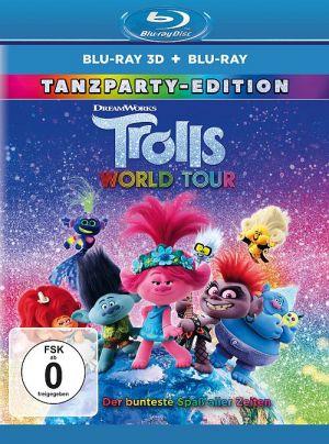 Trolls World Tour 3D (3D Blu-ray + 2D Blu-ray)