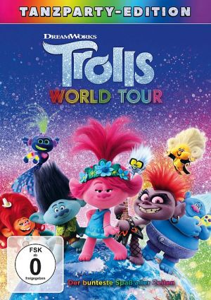 Trolls World Tour - Tanzparty Edition  (DVD) 2020