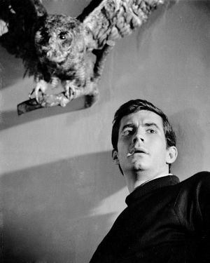 "Anthony Perkins in ""Psycho"" (1960)"