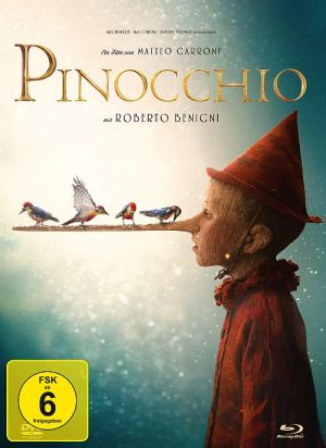 Pinocchio - 2-Disc Limited Collector's Edition im Mediabook (Blu-ray + DVD) (MB, BD, DVD) 2019