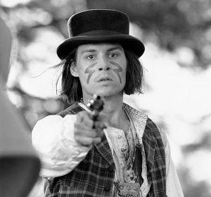 Johnny Depp, Dead Man (Szene) 1995