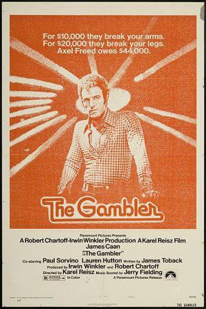 """Kinoposter zu """"Spieler ohne Skrupel"""" (""""The Gambler"""", 1974)"""