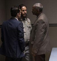 "Rami Malek, Jared Leto & Denzel Washington in ""The Little Things"" (2021)"