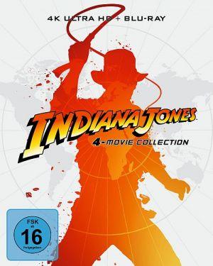 Indiana Jones 4K-Collection im limitierten Steelbook (4K Ultra HD-Blu-ray + Blu-ray)