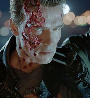 Arnold Schwarzenegger, Terminator 2 - Tag der Abrechnung 3D, Terminator 2 - Judgment Day (Szene 005) 1991